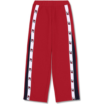 Textiel Dames Trainingsbroeken Tommy Hilfiger S10S100175 Rouge