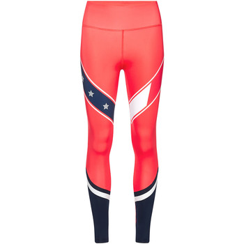 Textiel Dames Leggings Tommy Hilfiger S10S100116 Rood