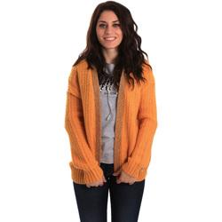 Textiel Dames Vesten / Cardigans Gaudi 921BD53041 Geel