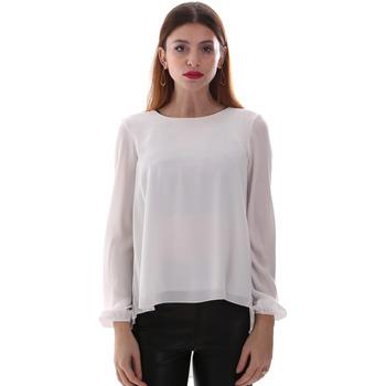 Textiel Dames Overhemden Gaudi 921BD45023 Wit