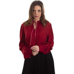 Textiel Dames Overhemden Liu Jo F69053 T4090 Rouge