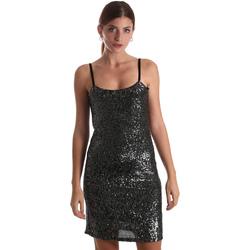 Textiel Dames Korte jurken Liu Jo F69179 J5813 Noir