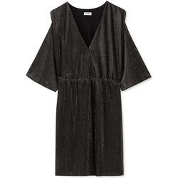 Textiel Dames Korte jurken Liu Jo F69392 J5828 Noir