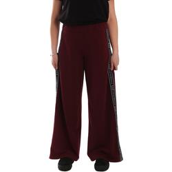 Textiel Dames Trainingsbroeken Ea7 Emporio Armani 6GTP63 TJ31Z Rood