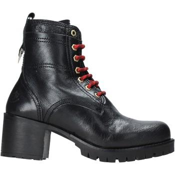 Schoenen Dames Enkellaarzen Lumberjack SW68501 002 B01 Zwart