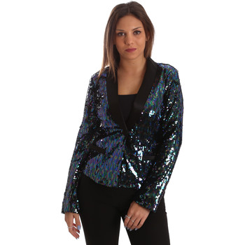 Textiel Dames Jasjes / Blazers Fracomina FR19FP622 Zwart
