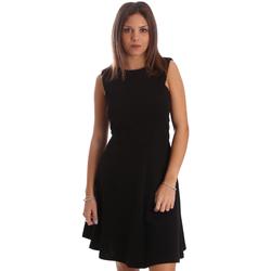Textiel Dames Korte jurken Fracomina FR19FP085 Zwart