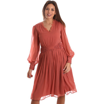 Textiel Dames Korte jurken Fracomina FR19FMREMI Roze
