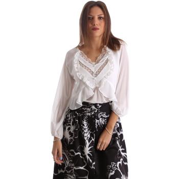 Textiel Dames Overhemden Fracomina FR19FMFLORRIE Wit