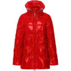 Textiel Dames Dons gevoerde jassen Invicta 4432354/D Rood