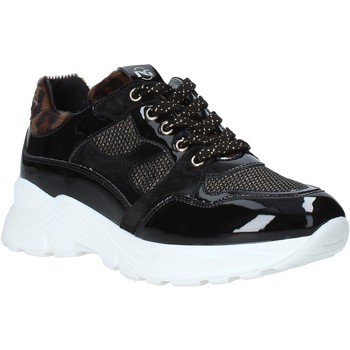 Schoenen Kinderen Lage sneakers Nero Giardini A931204F Noir
