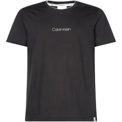 Textiel Heren T-shirts korte mouwen Calvin Klein Jeans K10K104934 Noir