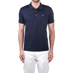 Textiel Heren Polo's korte mouwen Navigare NV72058 Blauw
