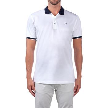 Textiel Heren Polo's korte mouwen Navigare NV72058 Wit