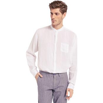 Textiel Heren Overhemden lange mouwen Gaudi 011BU45001 Wit