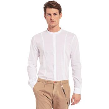 Textiel Heren Overhemden lange mouwen Gaudi 011BU45031 Wit