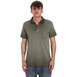 Textiel Heren Polo's korte mouwen Gaudi 011BU64017 Groen