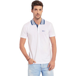 Textiel Heren Polo's korte mouwen Gaudi 011BU64044 Wit