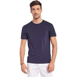 Textiel Heren T-shirts korte mouwen Gaudi 011BU64087 Blauw