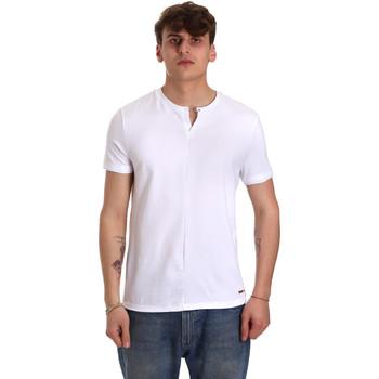 Textiel Heren T-shirts korte mouwen Gaudi 011BU64094 Wit