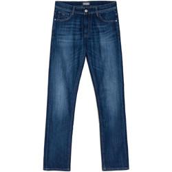 Textiel Heren Jeans Nero Giardini E070600U Bleu