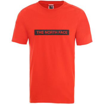 Textiel Heren T-shirts korte mouwen The North Face NF0A3S3O15Q1 Rouge