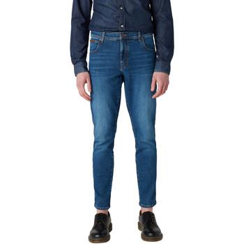 Textiel Heren Skinny jeans Wrangler W12ST112E Blauw