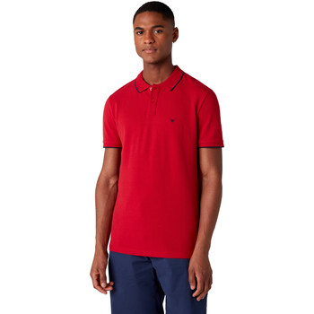 Textiel Heren Polo's korte mouwen Wrangler W7D5K4X47 Rouge
