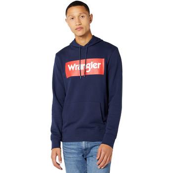 Textiel Heren Sweaters / Sweatshirts Wrangler W6B9HA114 Blauw
