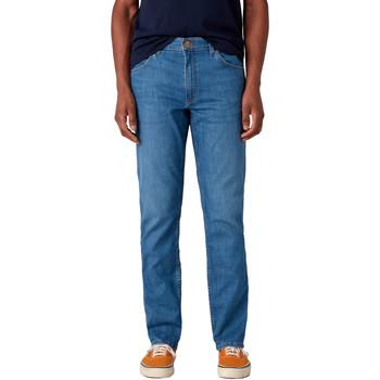 Textiel Heren Straight jeans Wrangler W15QQ1158 Bleu
