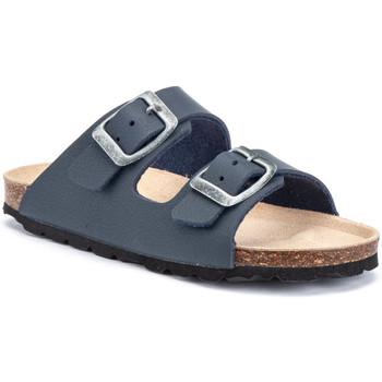 Schoenen Kinderen Leren slippers Lumberjack SB78706 002 S03 Bleu