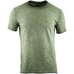 Textiel Heren T-shirts korte mouwen Lumberjack CM60343 004 517 Groen