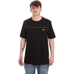 Textiel Heren T-shirts korte mouwen Antony Morato MMKS01696 FA100144 Zwart