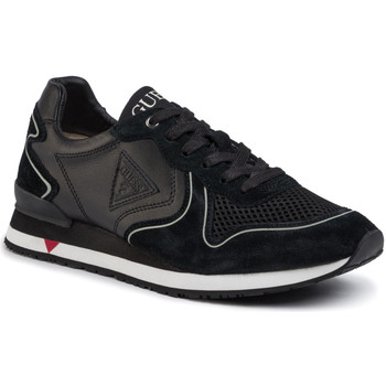 Schoenen Heren Lage sneakers Guess FM5NGL LEA12 Zwart