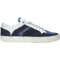 Schoenen Heren Lage sneakers Guess FM5STA SUE12 Blauw