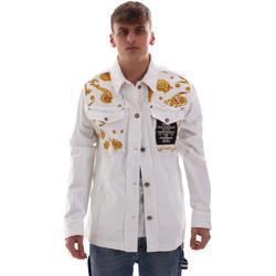 Textiel Heren Jacks / Blazers Versace C1GVB92GHRC33003 Wit