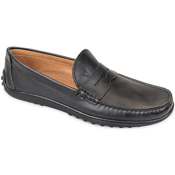 Schoenen Heren Mocassins Valleverde 11840 Noir