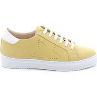 Schoenen Dames Lage sneakers Grunland SC4939 Geel