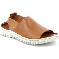 Schoenen Dames Sandalen / Open schoenen Grunland SA2538 Bruin