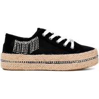 Schoenen Dames Lage sneakers Café Noir DG934 Zwart