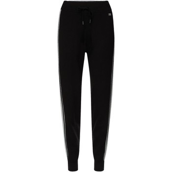 Textiel Dames Trainingsbroeken Tommy Hilfiger WW0WW26558 Noir