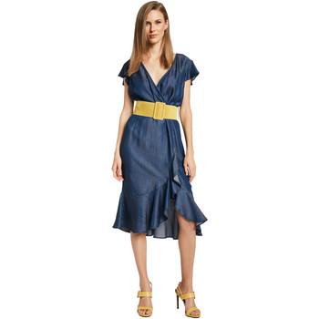 Textiel Dames Korte jurken Gaudi 011BD16001 Blauw