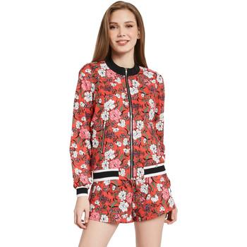 Textiel Dames Jacks / Blazers Gaudi 011BD35021 Rood