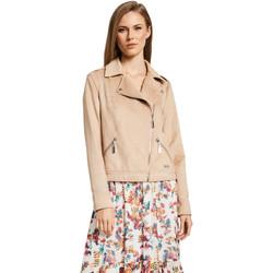 Textiel Dames Jasjes / Blazers Gaudi 011BD38008 Beige