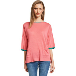 Textiel Dames Truien Gaudi 011BD53033 Roze