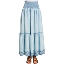 Textiel Dames Rokken Gaudi 011BD76002 Blauw