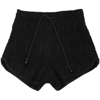 Textiel Dames Korte broeken / Bermuda's Versace A3HVB18513967899 Zwart