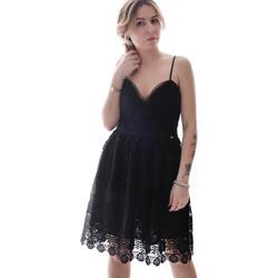 Textiel Dames Korte jurken Fracomina FR20SP531 Zwart