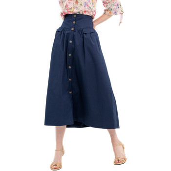 Textiel Dames Rokken Fracomina FR20SP133 Blauw