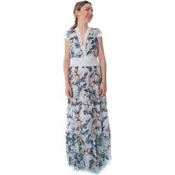 Textiel Dames Lange jurken Fracomina FR20SP432 Blauw